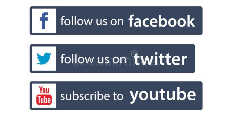 Μας συνεχίστε το facebook/το πειραχτήρι απεικόνιση αποθεμάτων