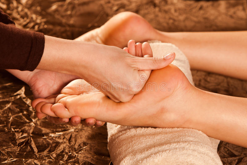 μασάζ ποδιών στοκ φωτογραφία