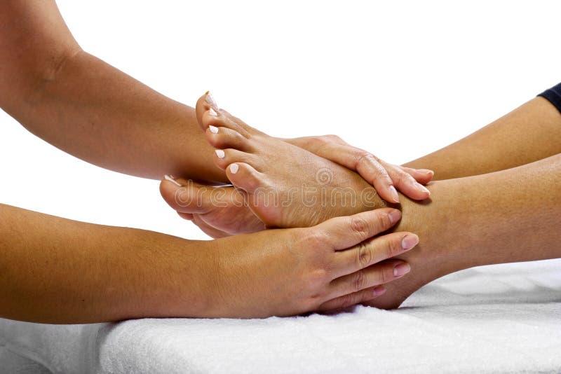 Μασάζ ποδιών στοκ εικόνα με δικαίωμα ελεύθερης χρήσης