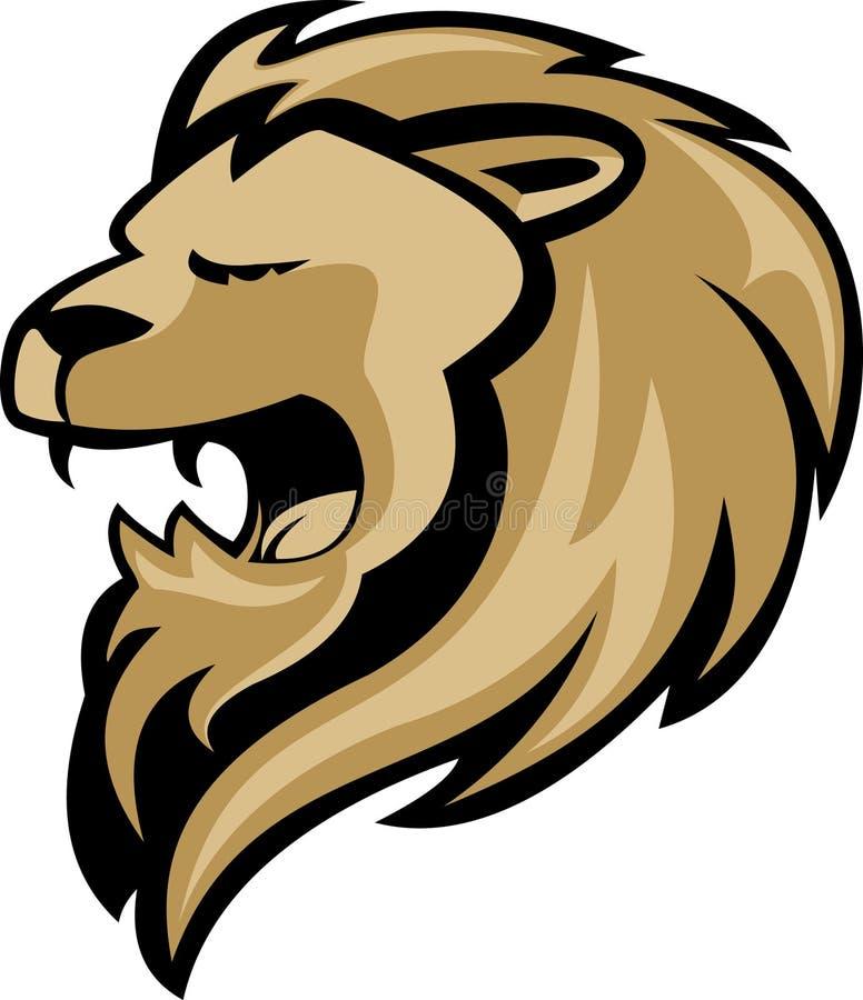 μασκότ λιονταριών ελεύθερη απεικόνιση δικαιώματος