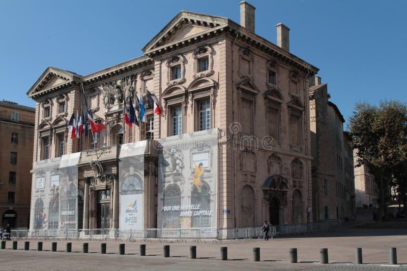 Μασσαλία Δημαρχείο στοκ εικόνα