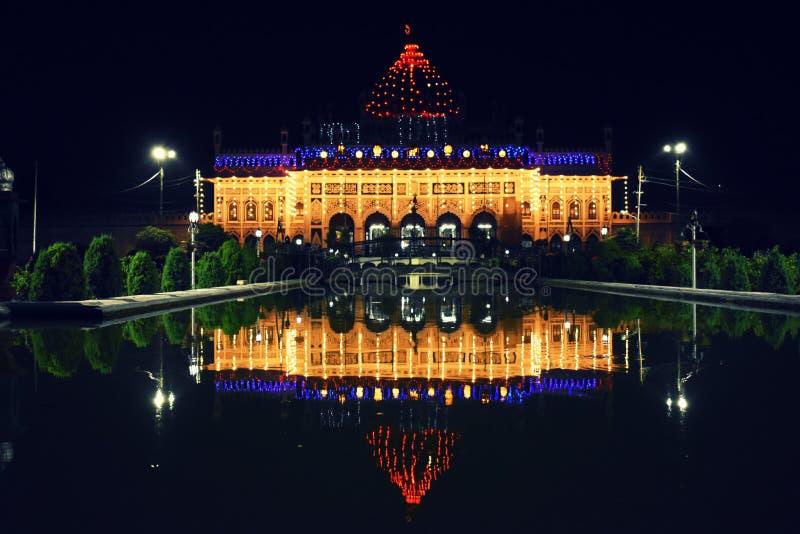 Μαυσωλείο Imambara, Lucknow, Ινδία στοκ εικόνα με δικαίωμα ελεύθερης χρήσης