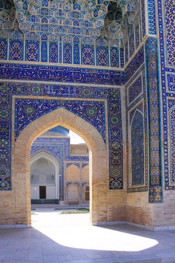 Μαυσωλείο εμιρών του Ουζμπεκιστάν Σάμαρκαντ gur-ε στοκ φωτογραφία με δικαίωμα ελεύθερης χρήσης