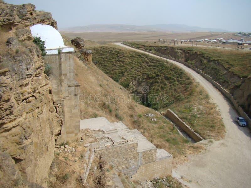 Μαυσωλείο μπαμπάδων Diri, Αζερμπαϊτζάν, Maraza στοκ φωτογραφία με δικαίωμα ελεύθερης χρήσης