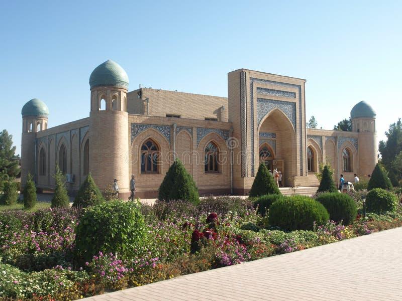 Μαυσωλείο Al-Hakim Al-Termezi, Ουζμπεκιστάν στοκ εικόνες