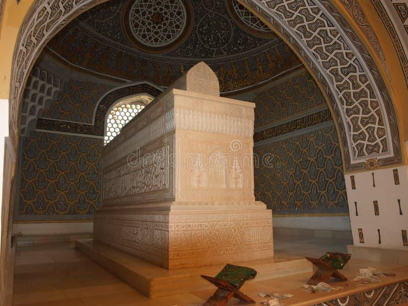 Μαυσωλείο Al-Hakim Al-Termezi, Ουζμπεκιστάν στοκ εικόνες με δικαίωμα ελεύθερης χρήσης