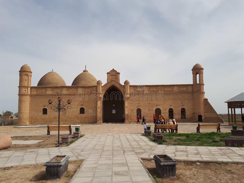 Μαυσωλείο Bab Arystan στοκ φωτογραφία με δικαίωμα ελεύθερης χρήσης
