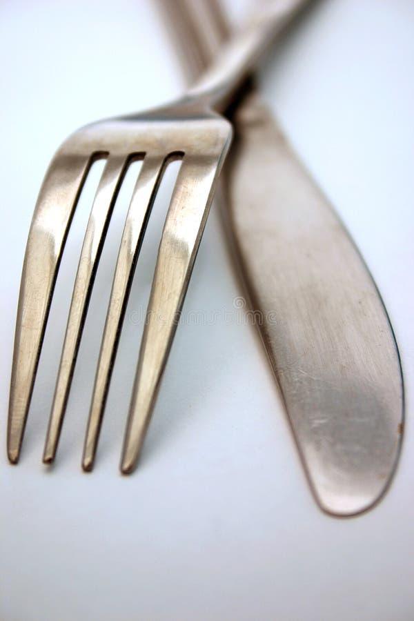 μαχαίρι δικράνων στοκ φωτογραφία