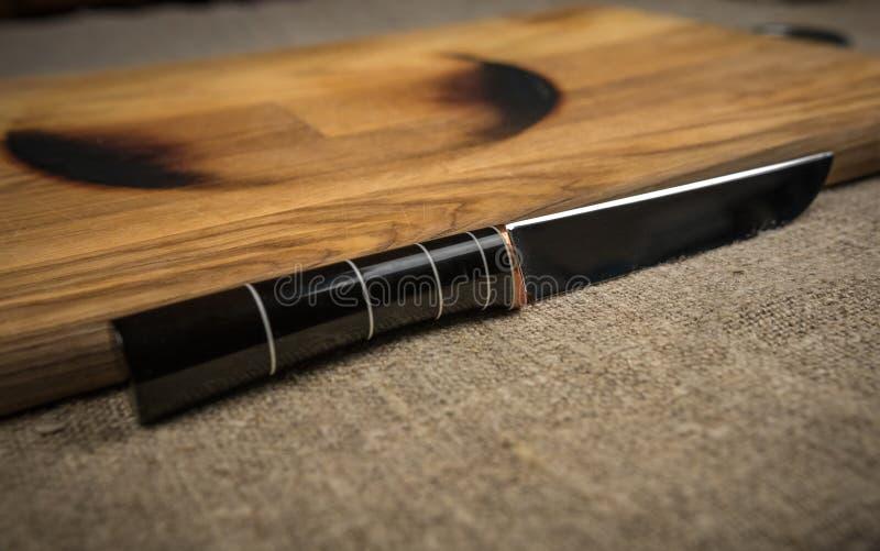 μαχαίρι κουζινών χάλυβα στοκ φωτογραφία με δικαίωμα ελεύθερης χρήσης