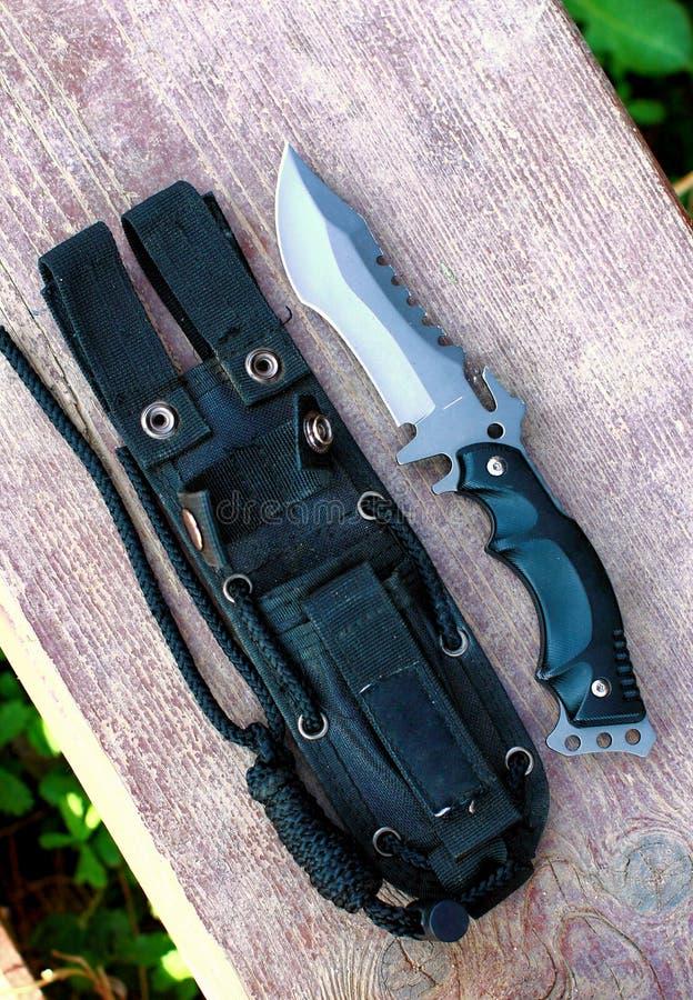 Μαχαίρι κυνηγιού στοκ φωτογραφία με δικαίωμα ελεύθερης χρήσης