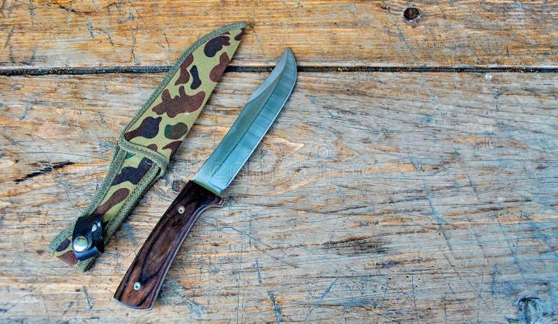 μαχαίρι κυνηγιού στοκ φωτογραφία