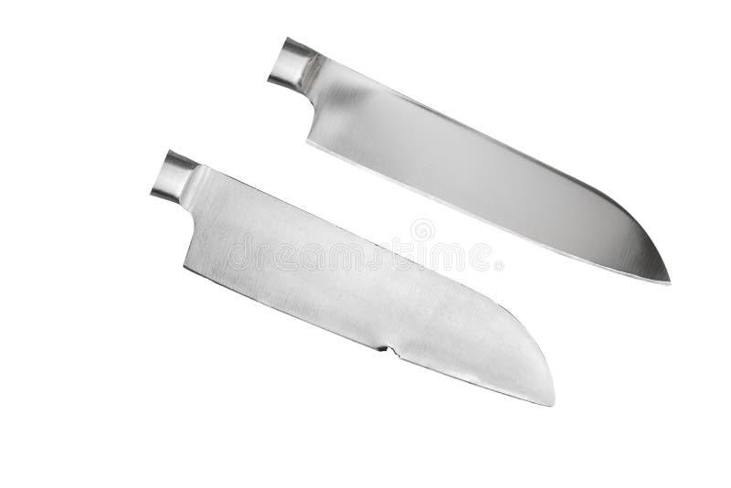 Μαχαίρι λεπίδων με μια παραμορφώσιμη και αποκατεστημένη εξέχουσα θέση στοκ εικόνα με δικαίωμα ελεύθερης χρήσης
