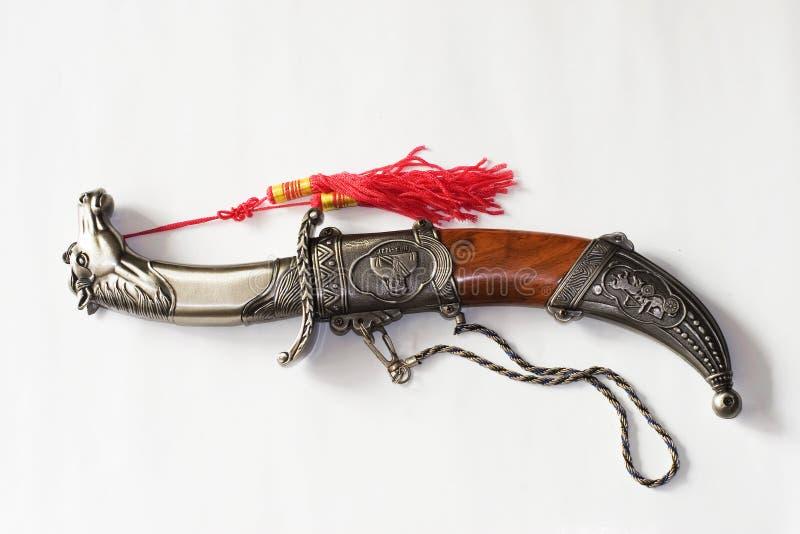 μαχαίρι Μογγολία στοκ εικόνες