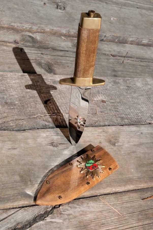 Μαχαίρι στοκ φωτογραφίες με δικαίωμα ελεύθερης χρήσης