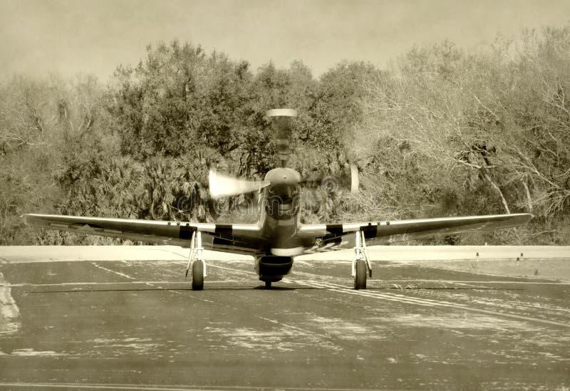 μαχητής αεροπλάνων παλαιό&s στοκ εικόνες