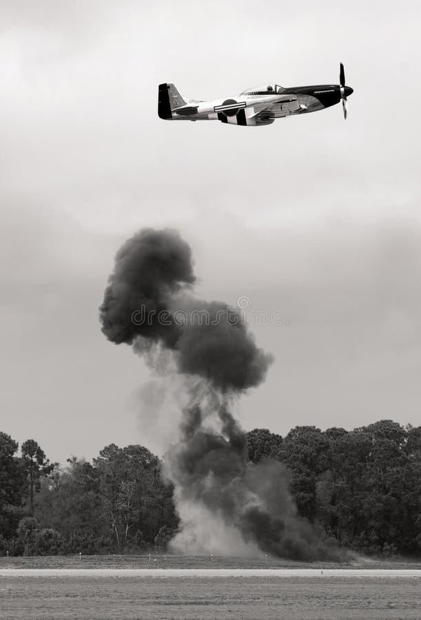 μαχητής αεροπλάνων στοκ φωτογραφία με δικαίωμα ελεύθερης χρήσης