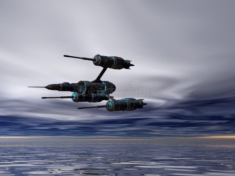 μαχητής τρία Στοκ Εικόνες
