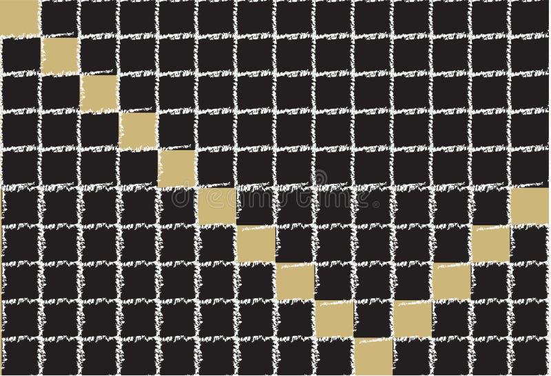 Μαύρα βασικά τετράγωνα ελεγκτών στοκ εικόνες