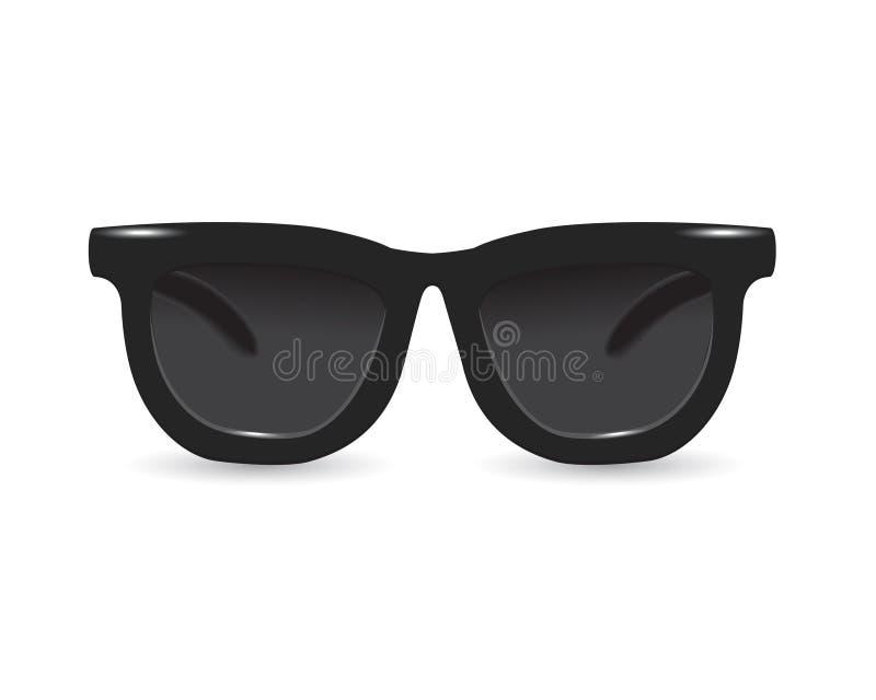 Μαύρα γυαλιά ηλίου ελεύθερη απεικόνιση δικαιώματος