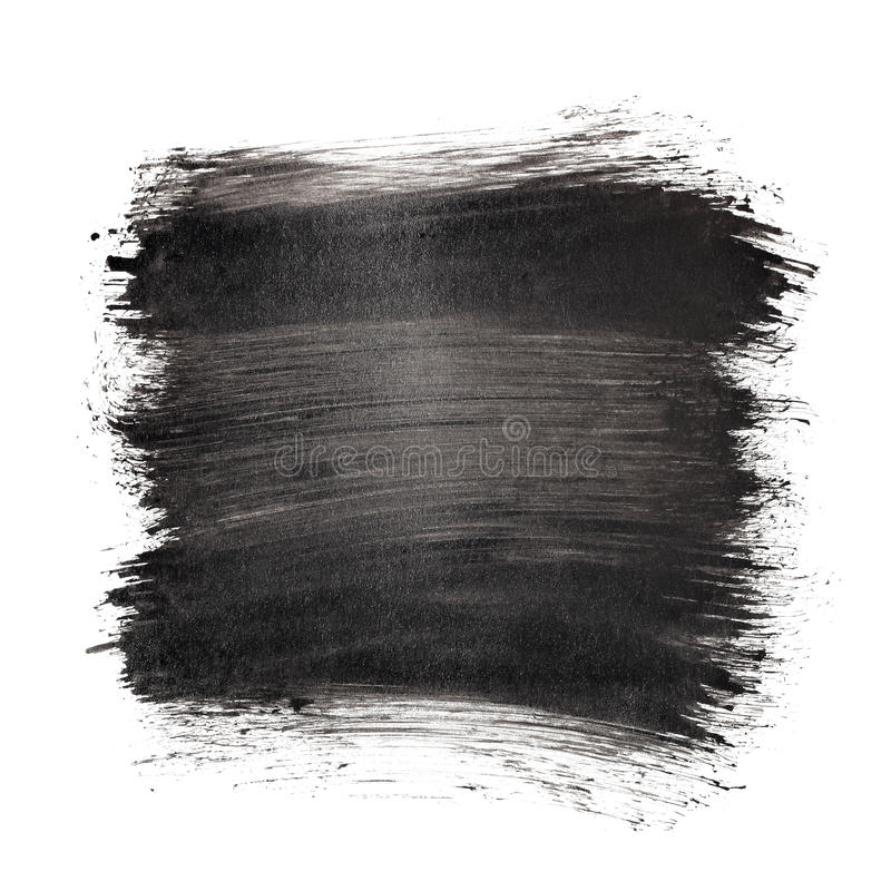μαύρα κτυπήματα βουρτσών ελεύθερη απεικόνιση δικαιώματος