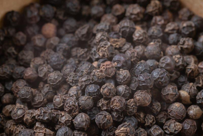 Μαύρα σιτάρια πιπεριών σωρών στοκ φωτογραφία με δικαίωμα ελεύθερης χρήσης