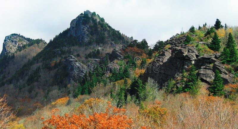 Μαύρες αιχμές βουνών σε NC στοκ εικόνες με δικαίωμα ελεύθερης χρήσης