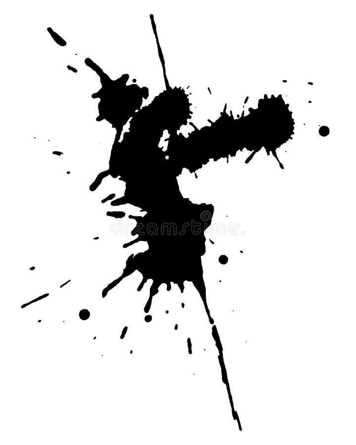 μαύρες απελευθερώσεις απεικόνιση αποθεμάτων