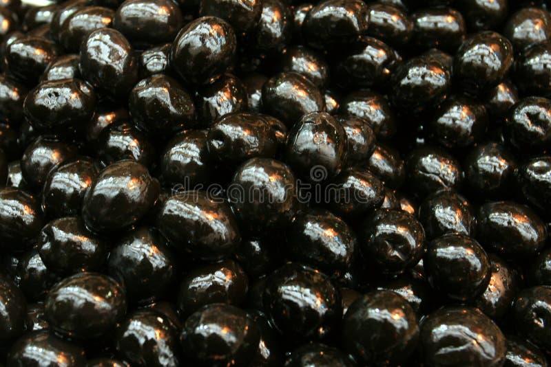 μαύρες ελιές στοκ φωτογραφίες