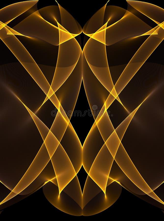 μαύρες καμμένος χρυσές γρ&a ελεύθερη απεικόνιση δικαιώματος