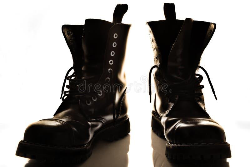 μαύρες μπότες στοκ φωτογραφία με δικαίωμα ελεύθερης χρήσης