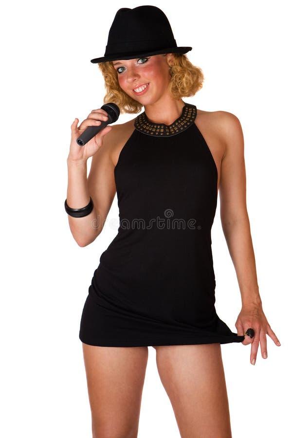 μαύρες ξανθές χαριτωμένες & στοκ εικόνα με δικαίωμα ελεύθερης χρήσης
