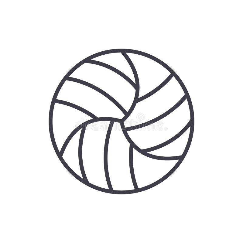 Μαύρη έννοια εικονιδίων ανταγωνισμών πετοσφαίρισης Επίπεδο διανυσματικό σύμβολο ανταγωνισμών πετοσφαίρισης, σημάδι, απεικόνιση ελεύθερη απεικόνιση δικαιώματος