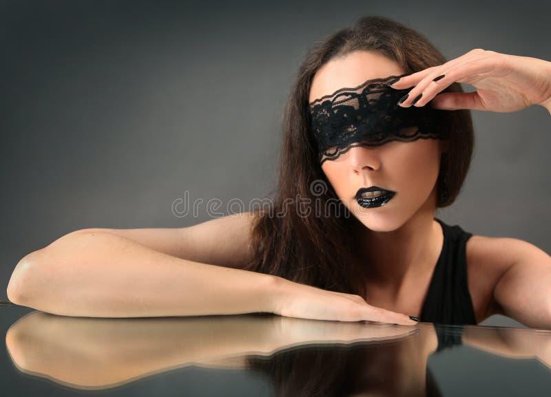 Μαύρη αντανάκλαση στοκ εικόνες