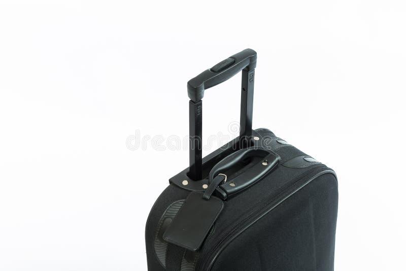 Μαύρη βαλίτσα ταξιδιού στοκ φωτογραφία