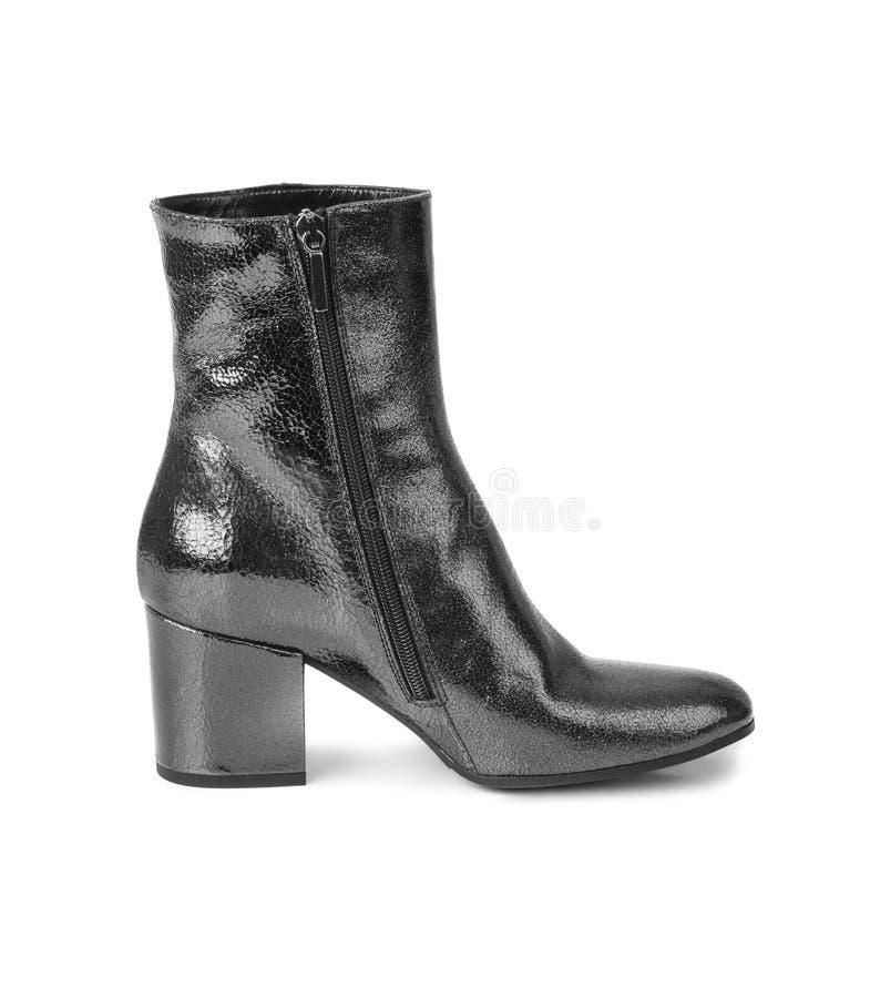 μαύρη γυναίκα παπουτσιών στοκ εικόνες