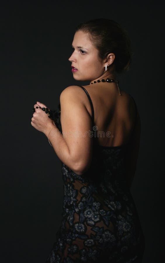 μαύρη γυναίκα στοκ φωτογραφία με δικαίωμα ελεύθερης χρήσης