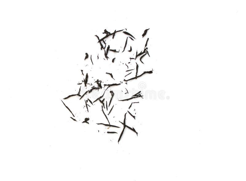 Μαύρη γόμα στο λευκό στοκ εικόνα με δικαίωμα ελεύθερης χρήσης