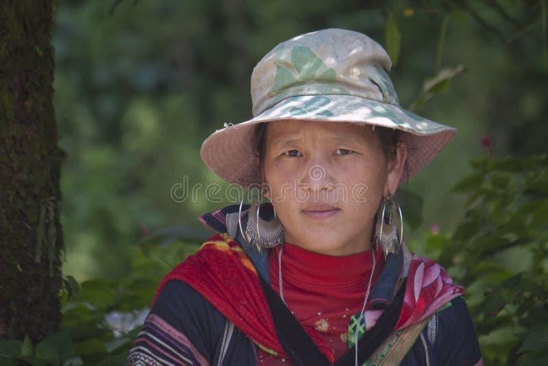 Μαύρη εθνική μειονότητα H'mong στοκ φωτογραφίες με δικαίωμα ελεύθερης χρήσης