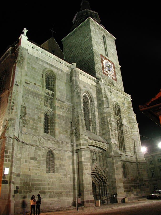 μαύρη εκκλησία Στοκ φωτογραφία με δικαίωμα ελεύθερης χρήσης
