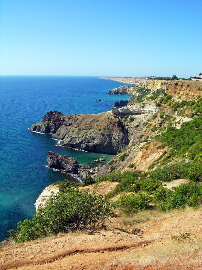 μαύρη θάλασσα Ουκρανία τη&s στοκ εικόνες