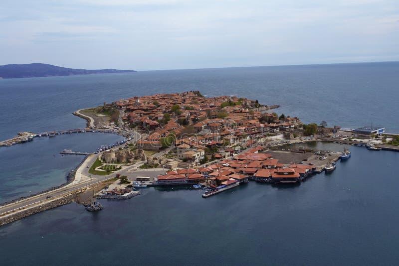 μαύρη θάλασσα πόλεων της Βουλγαρίας στοκ φωτογραφίες με δικαίωμα ελεύθερης χρήσης