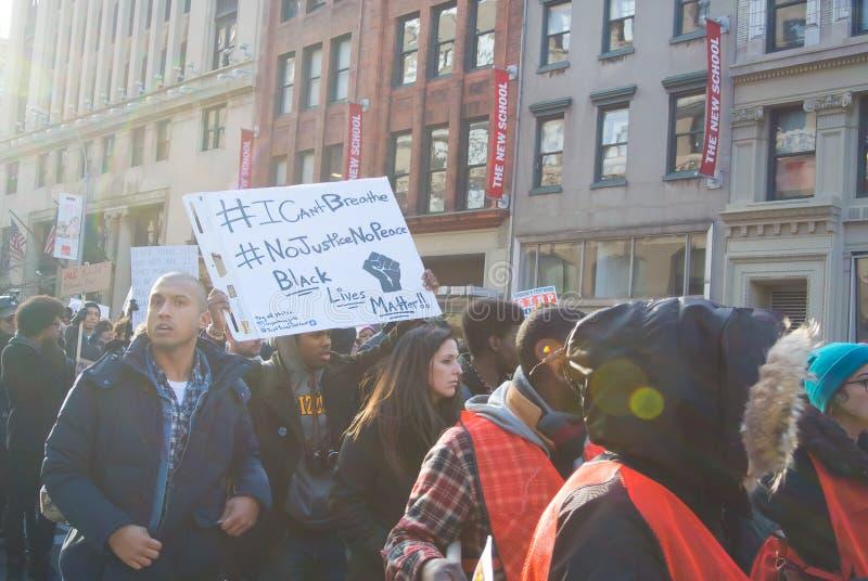 Μαύρη διαμαρτυρία θέματος ζωών στοκ φωτογραφίες με δικαίωμα ελεύθερης χρήσης