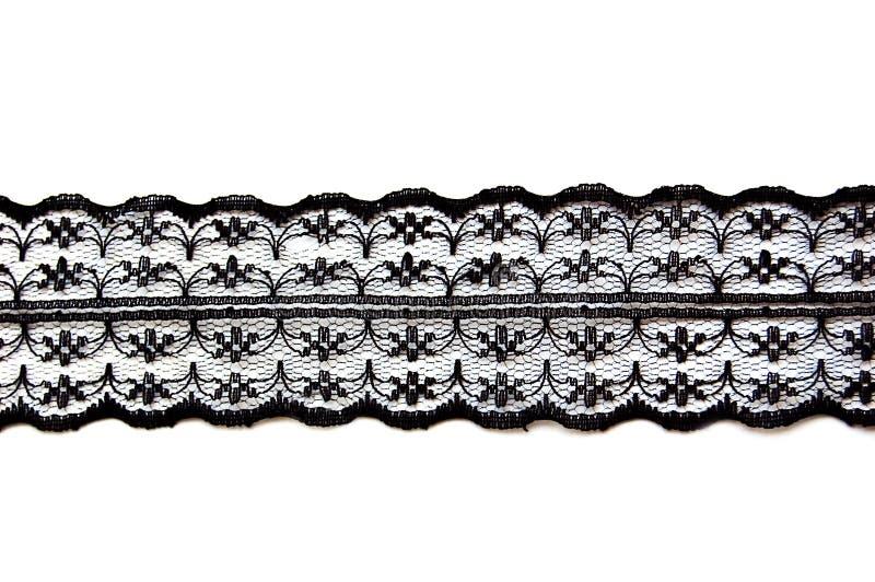 μαύρη λεπτή δαντέλλα στοκ φωτογραφίες με δικαίωμα ελεύθερης χρήσης