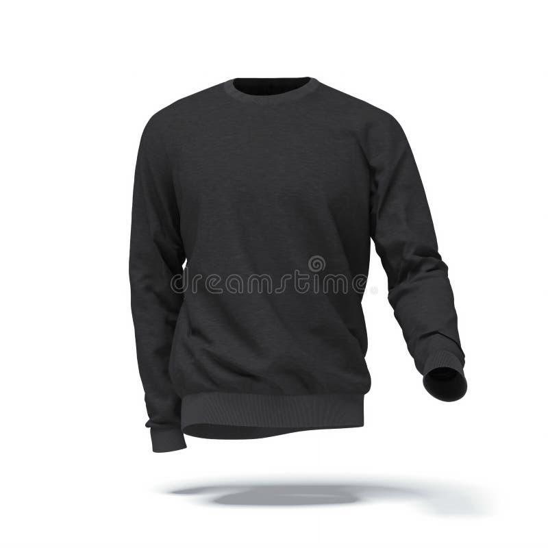 Μαύρη μπλούζα ελεύθερη απεικόνιση δικαιώματος