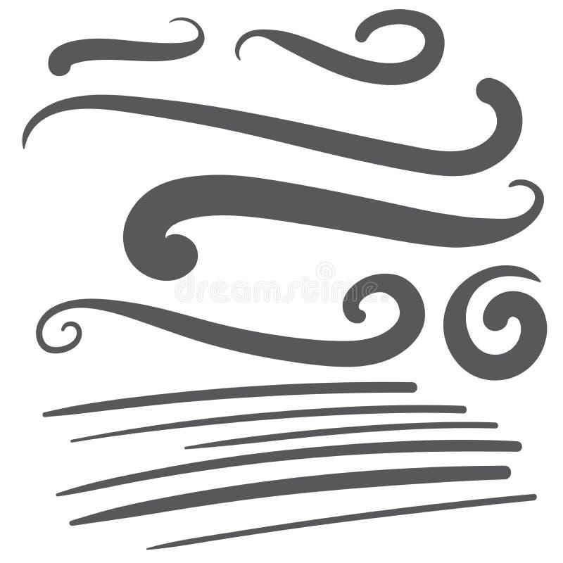 Μαύρη ουρά πηγών κειμένων squiggle swoosh - σχέδιο μπλουζών μπέιζ-μπώλ απεικόνιση αποθεμάτων