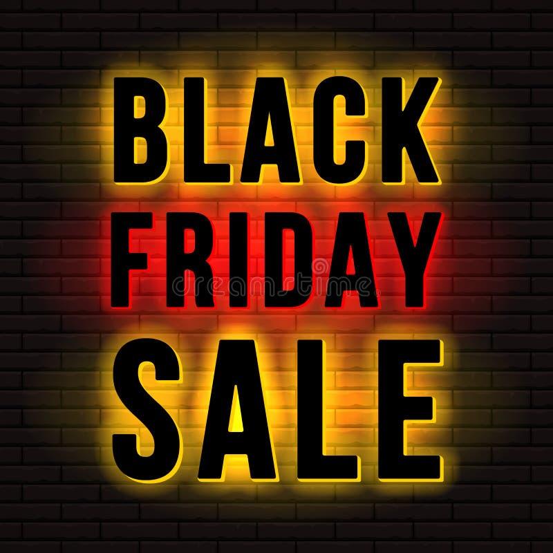 Μαύρη πινακίδα πώλησης Παρασκευής ελεύθερη απεικόνιση δικαιώματος