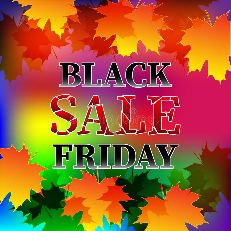 μαύρη πώληση Παρασκευής απεικόνιση αποθεμάτων