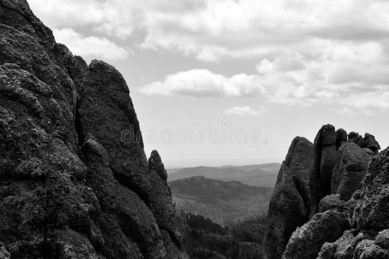 Μαύρη σειρά 2 βουνών λόφων στοκ εικόνες