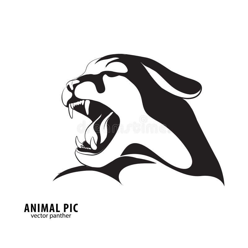 Download Μαύρη σκιαγραφία λεοπαρδάλεων Διανυσματική απεικόνιση - εικονογραφία από περίγραμμα, γάτες: 62719268
