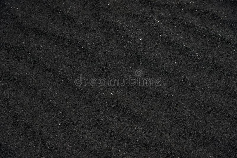 μαύρη σύσταση άμμου ηφαιστ&eps στοκ φωτογραφία με δικαίωμα ελεύθερης χρήσης